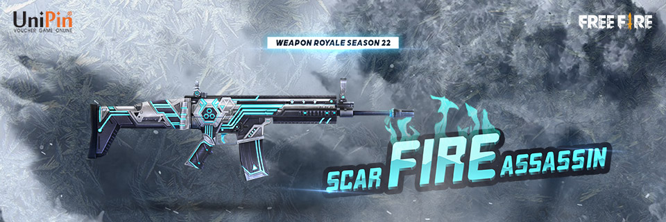 Unipin Weapon Royale S22 Scar Fire Assassin