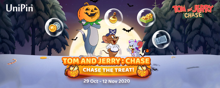 UniPin - Tom and Jerry : Chase, Chase the Treat, dapatkan
