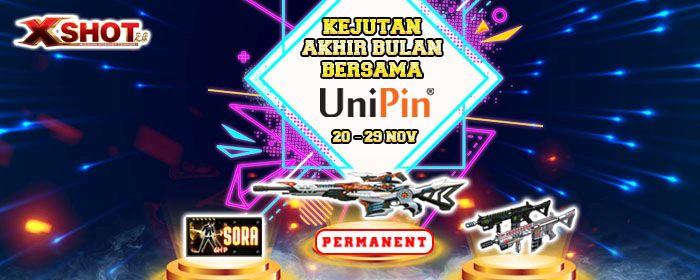 Xshot Top up Event Akhir Bulan, Dapatkan UniPin Credits dan Item In-game