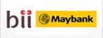 Manual Transfer via BII Maybank