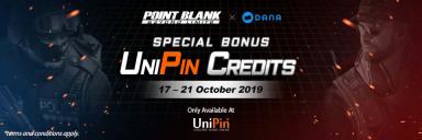 Hanya di UniPin Top up Point Blank dapat triple bonus!