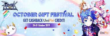 October Gift Festival with Ragnarok M!