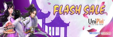 Flash Sale Jade Dynasty x UniPin di Mulai! Cashback 12% dan dapatkan Spesial Item!